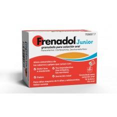 FRENADOL JUNIOR GRANULADO PARA SOLUCION ORAL , 10 SOBRES