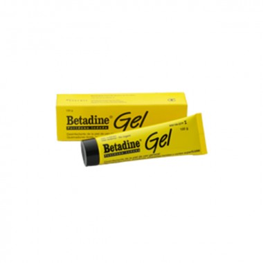 BETADINE GEL 100 MG/G GEL , 1 TUBO DE 100 G